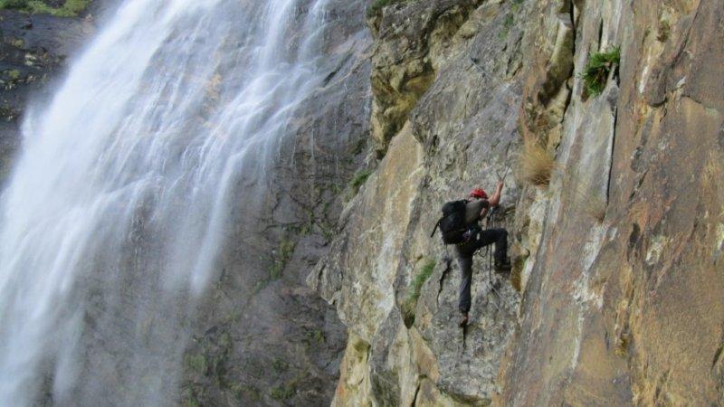 Klettersteig Fallbach : Bergrettung kötschach » fallbach klettersteig